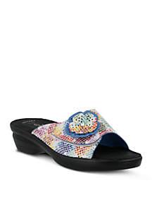 Fabia Slide Sandal