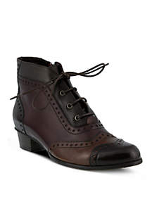 Spring Step Heroic Lace Up Booties