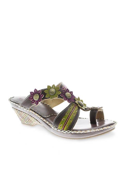 L'Artiste by Spring Step Peeps Sandal