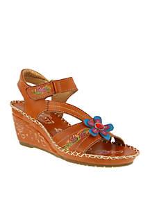 Purna Wedge Sandal