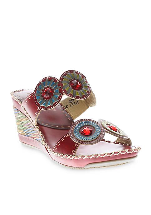 Taffy Wedge Sandal