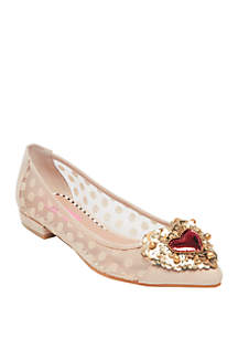 Phebe Embellished Ballet Flat