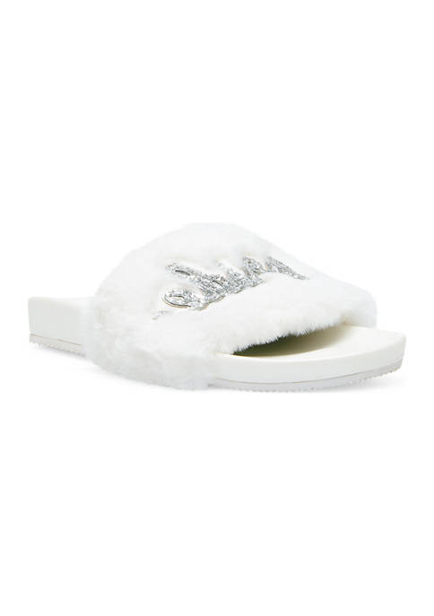 Betsey Johnson Alice Pool Slide Slippers