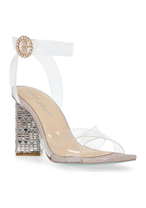 Betsey Johnson Bell Ankle Strap Sandals