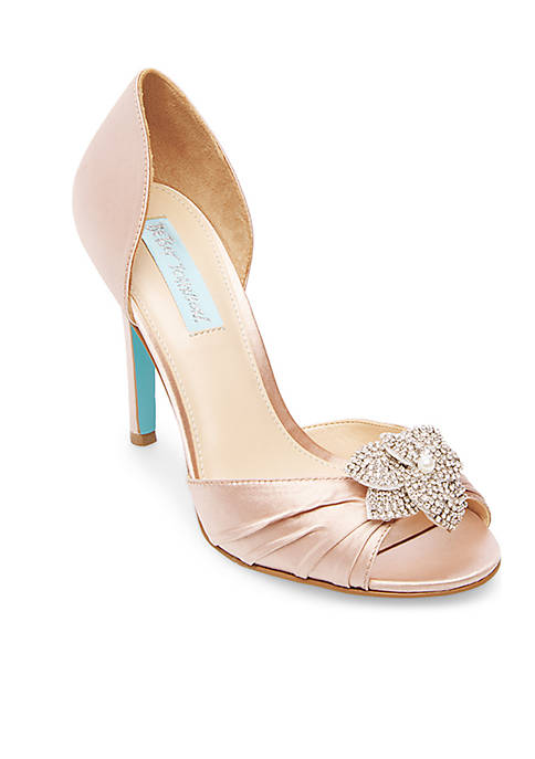 Betsey Johnson Pleated Pumps