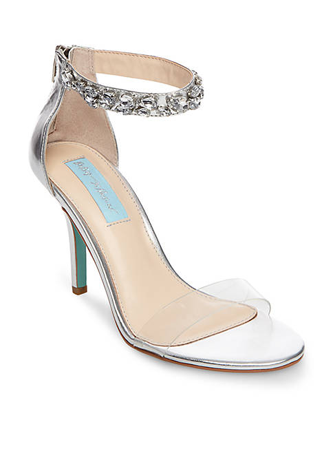 Betsey Johnson Drew Ankle Strap Sandals