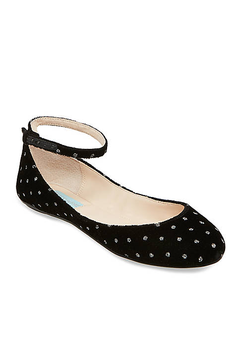 Blue by Betsey Johnson Joy Flat