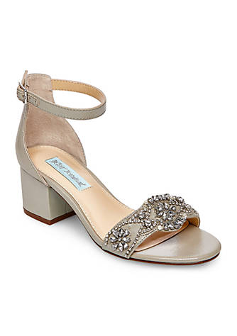 a50c3be0bd Betsey Johnson Mel Block Heel Sandal Q4wBfY - alikeplaces.com