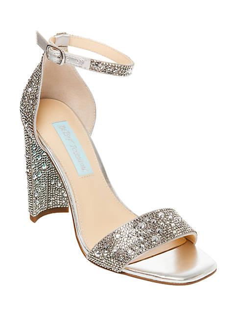 Betsey Johnson Rina Embellished Sandals