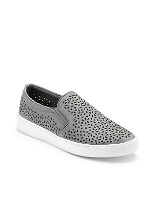381cd9fc4a01 Vionic Midi Perforated Slip On Sneakers