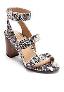 Carmel Three Strap Heel