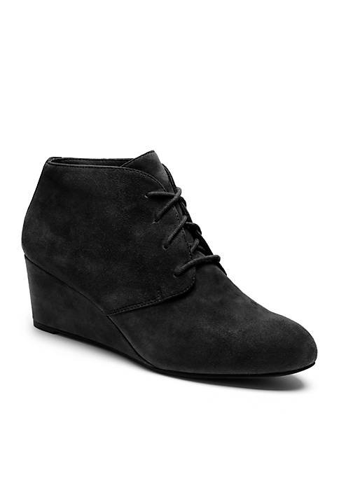 81569d010389 Vionic Becca Wedge Bootie - Available in Extended Sizes