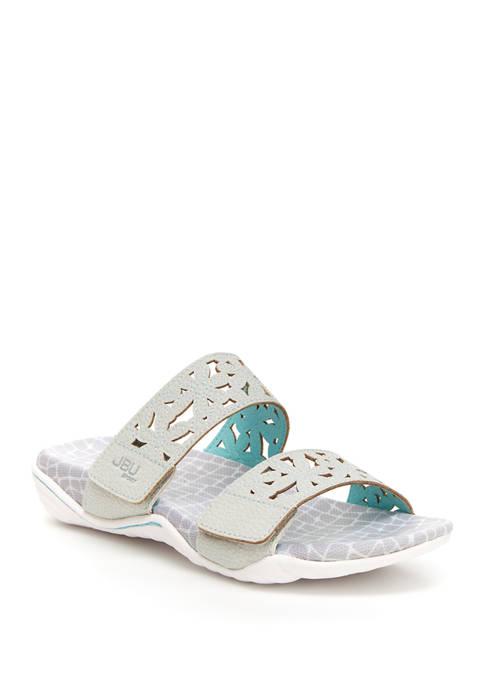 Jambu Wildflower Slide Sandals