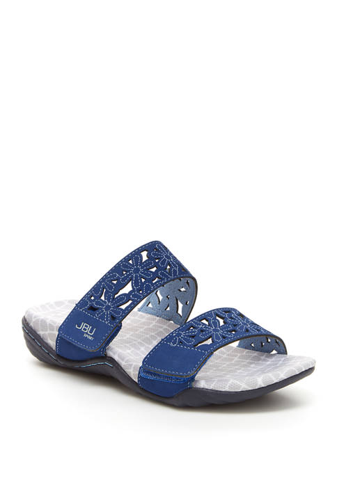 Jambu Wildflower Slide Sandals