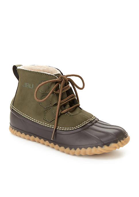 JBU™ Brown/Army Green Nala Bootie