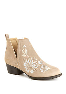 Parker Embroidered Bootie