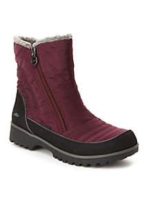 Burgundy Snowbird Boot