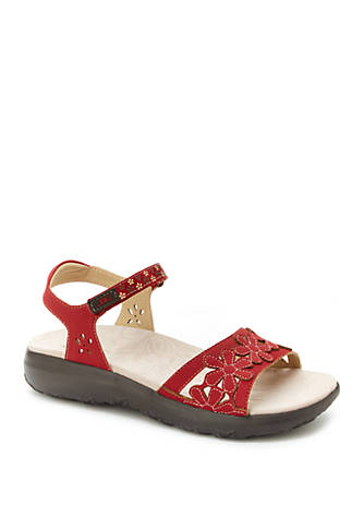 Jambu Wildflower Red Sandals mb1TC1EH2m