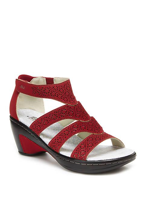 JBU™ Bianca Red Sandals