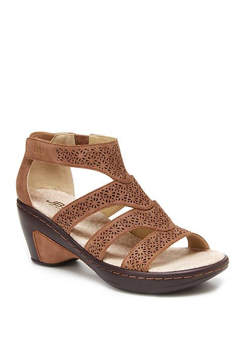Jambu Bianca Taupe Sandals