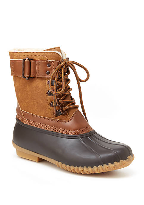 JBU™ Calgary Traditional Lace Up Duck Boots