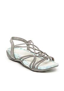 April Gray Sandals