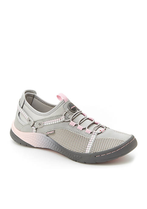 Jambu Tahoe Encore Light Gray and Petal Shoes