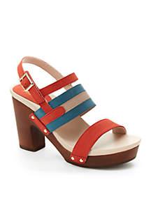 Viola Chunky Heel Sandal