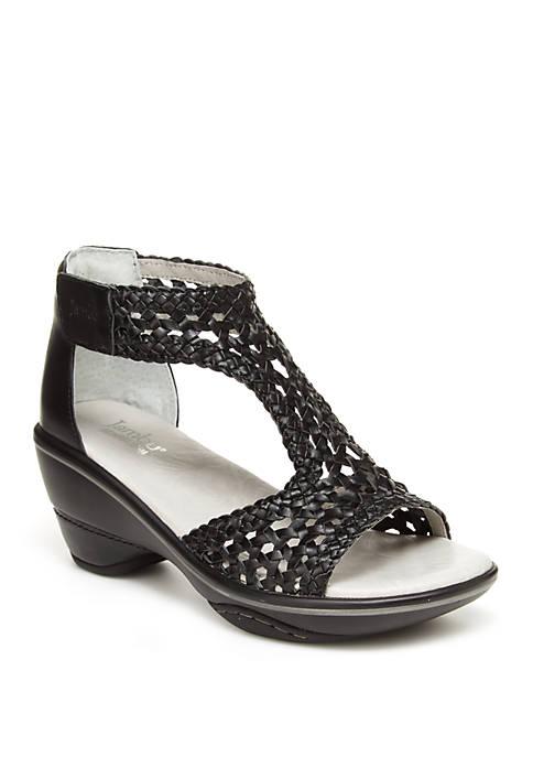 Sandy Wedge Sandals