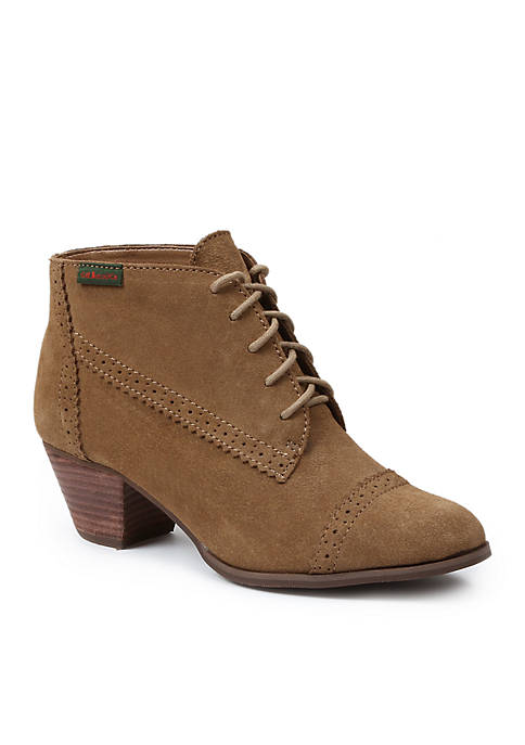 G.H. Bass & Co. Porter Bootie - Available in Extended Sizes - Online Only refpQo