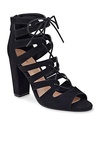 indigo rd. Beachie Gilly Heel Sandals