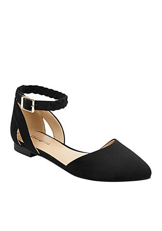 indigo rd. Ankle Strap Pointed Flat zWiuI