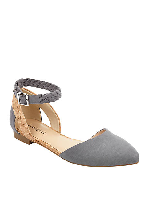 indigo rd. Ankle Strap Pointed Flat