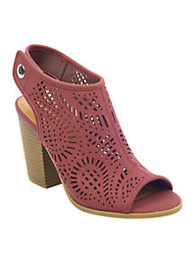 Parca Block Heel Sandal