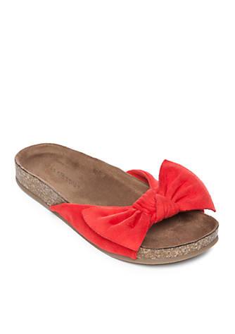 indigo rd. Bow Front Footbed Sandals CeEjXw3Hx