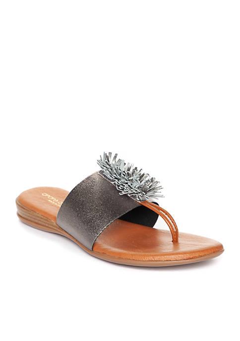 André Assous Novalee Fringe Sandals