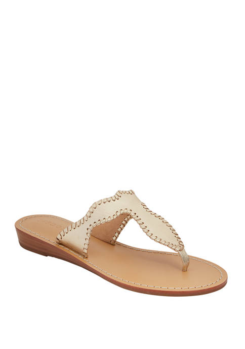 Jack Rogers Jackie Demi Wedge Sandals