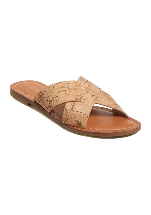 Slotted Sloane X Band Sandals