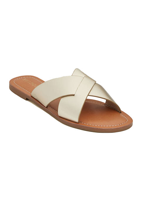 Slotted Sloane X-Band Sandals