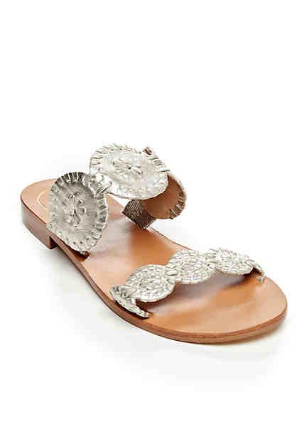 Good Choice Ari Cross Strap Cushioned Flat Slide Sandals Azlr7dZW