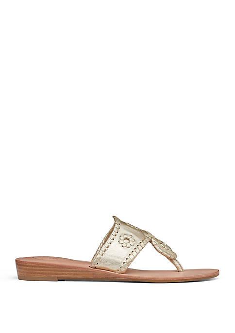 Jacks Demi Wedge Sandals