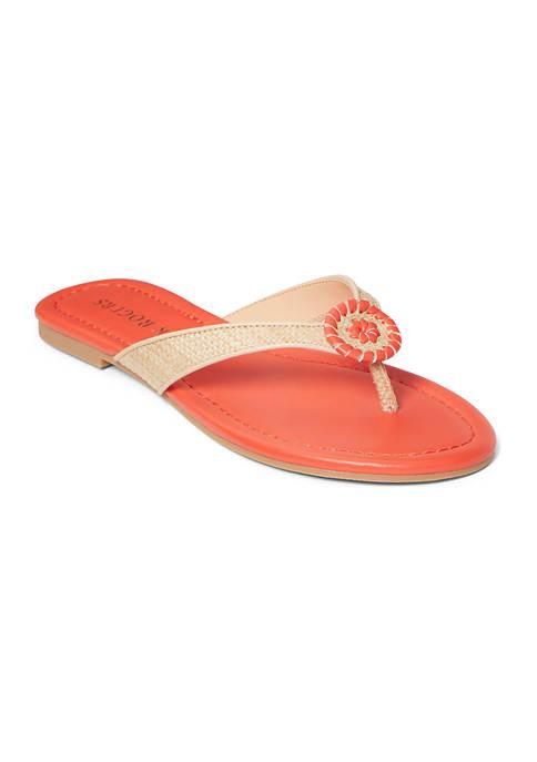 Jack Rogers Rowan Flip Flop Sandals