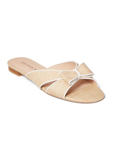 Jack Rogers Gigi Bow Slide Sandals