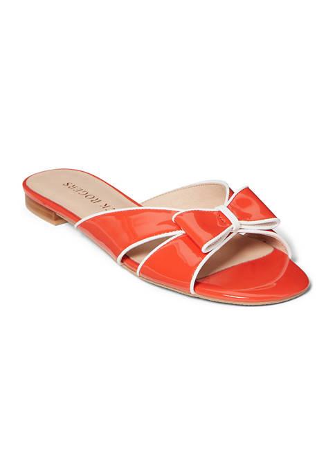 Gigi Bow Slide Sandals