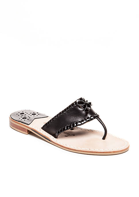 Adeline Bow T-Strap Sandal