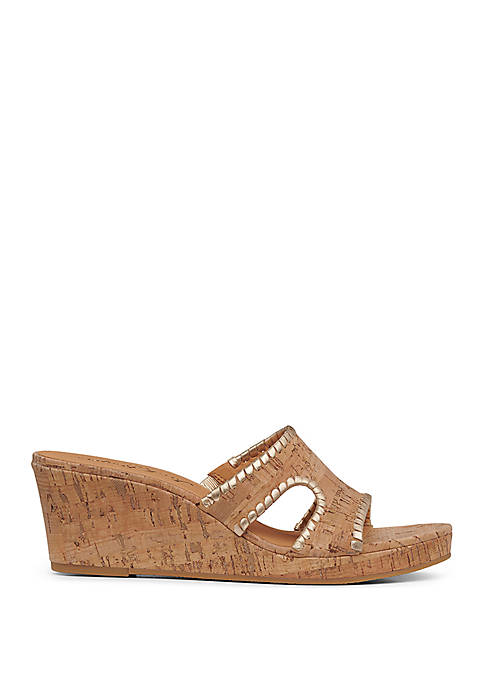 Jack Rogers Sloan Mid Wedge Sandals