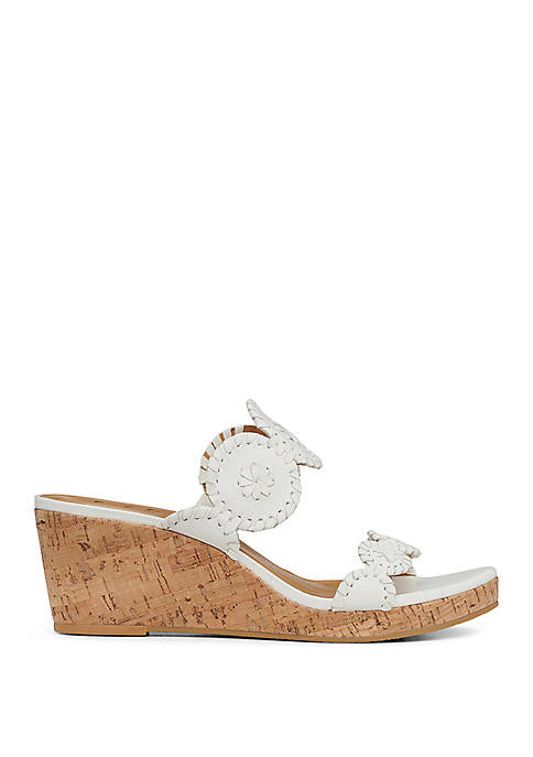 Jack Rogers Lauren Mid Wedge Sandals