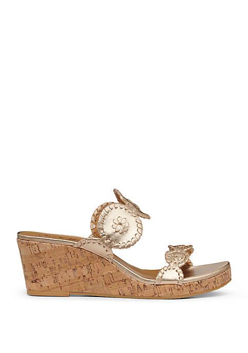 Lauren Mid Wedge Sandals