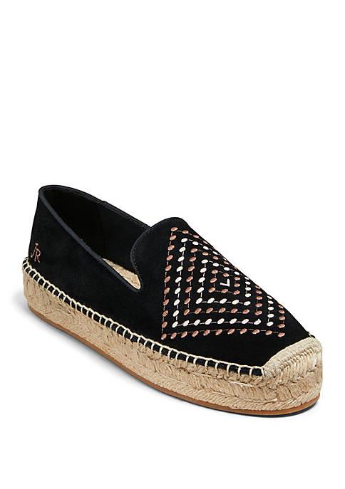 Jack Rogers Luna Suede Espadrille Shoes