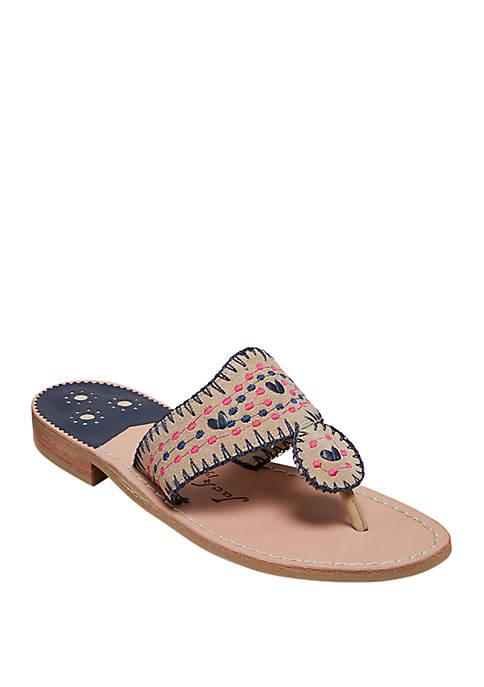 Crochet Flat Sandals